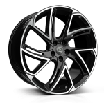 Hawke Condor wheels 22 x 9.5j 5x120 | Black Set of four | fits Range Rover Sport, Vogue and Discovery models