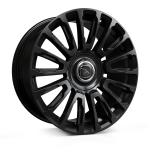 22x9.5 5 x 120 ET18 Hawke Dresden | Single wheel | Jet Black