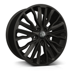 Hawke Harrier wheels 20 x 8.5j 5-108 | Matt Black Set of four | fits Bentley Continental, GT, GTC and Flying Spur