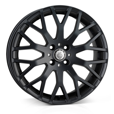 Cades Vienna Alloy Wheels 17 inch 4x100 (ET38) | Matt Black x 4 | fits Mini, VW, Citroen, E30 3 Series BMW models
